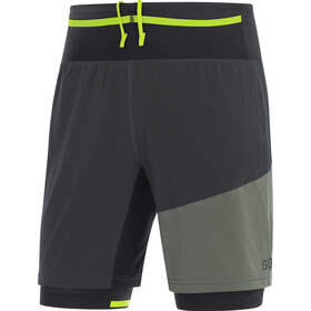 GORE WEAR R7 2in1 Shorts Men terra grey/castor grey
